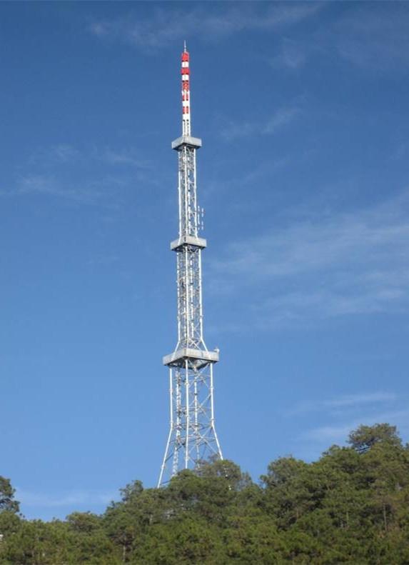 塔桅结构--云南丽江90米广播电视塔