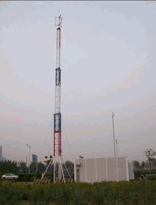 塔桅结构--升降式一体化基站