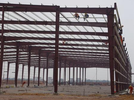 施工安装 >> 钢结构安装